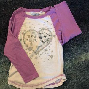 Girls Frozen shirt